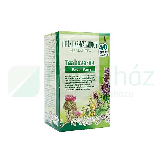 APOTHEKE Tea Epe és Hasnyálmirígy Panaszokra 20 filter - Máj- és epevédő, méregtelenítő teák
