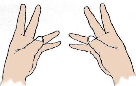 Méregtelenítő kéztartás (Avalambaka-mudra) | Természetgyógyászat, Blog - Mudra méregtelenítés