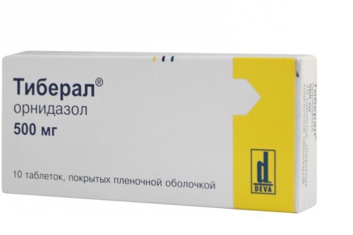 ornidazol giardiasisban szenvedő gyermekek számára reggeli lehelet