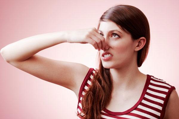 a szájbetegség székletszaga