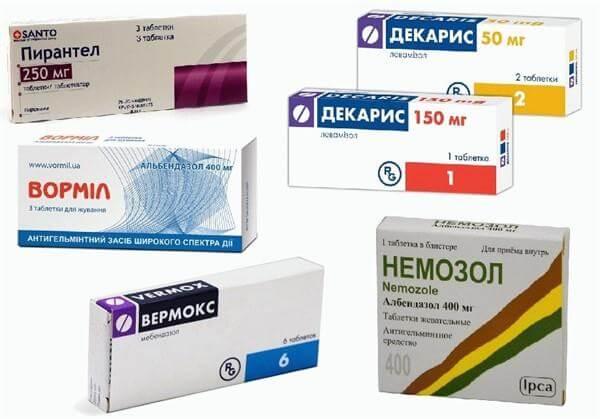 enterobiosis ellenanyagok