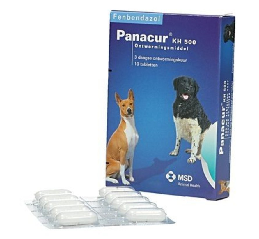 giardia hond behandeling panacur)