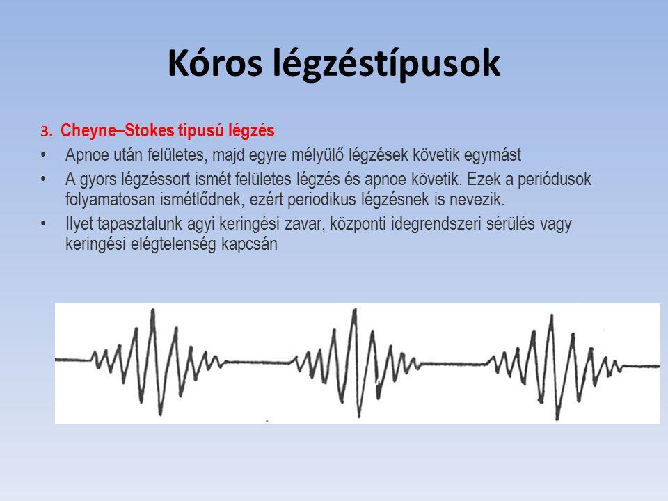 Szapora légzés - Hiperventilláció, tachypnoe