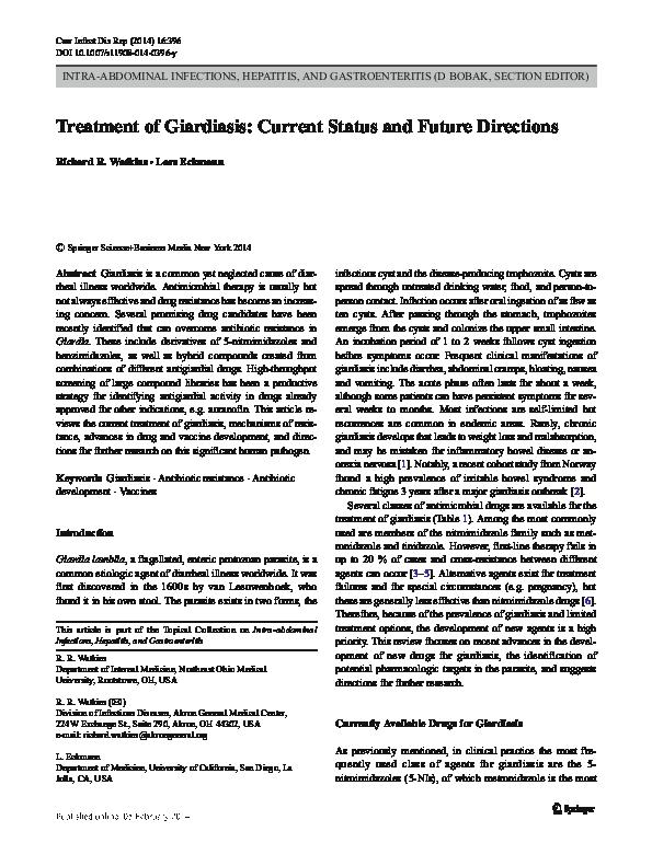 giardia outbreak 2020 california