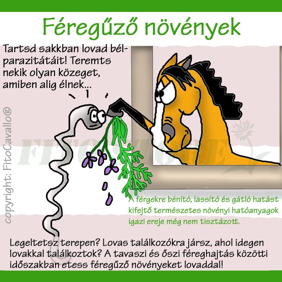trágya féregtelenítése)