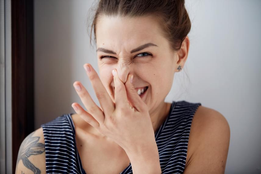 Ha már egy ideje ilyen szagot árasztasz, fordulj orvoshoz!