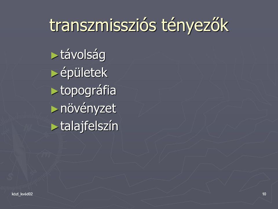 transzmissziós tényezők a trichocephalosisban