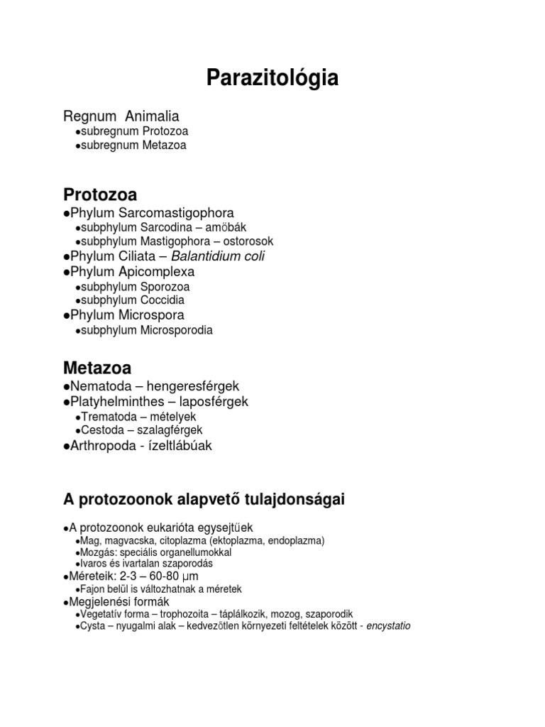giardiasis hasmenes)
