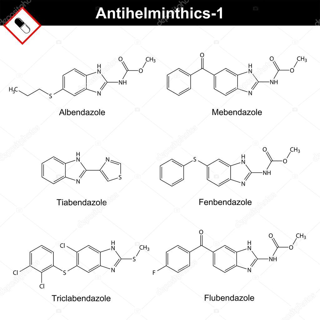 a leghatékonyabb anti helminth gyógyszerek