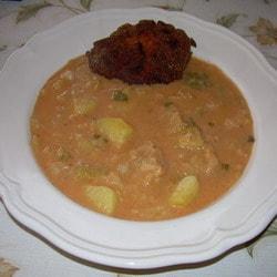 hagyományos kelkáposzta főzelék