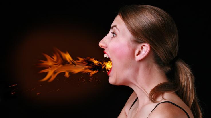 szájszárazság és rossz lehelet