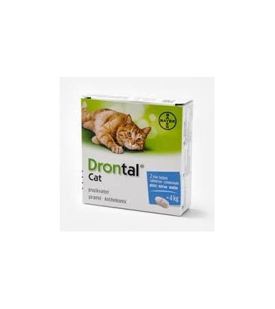Drontal Cat féregtelenítő tabletta A.U.V. - Felelős Állattartás
