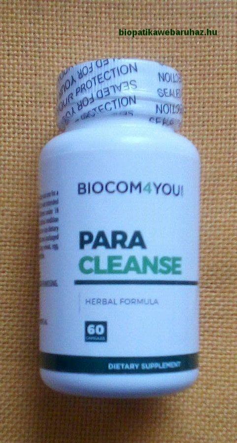 paraziták kezelése után)