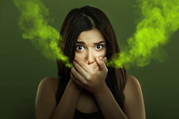 gyomorbetegség és rossz lehelet)