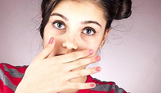 rossz lehelet a bőrből és a szájból