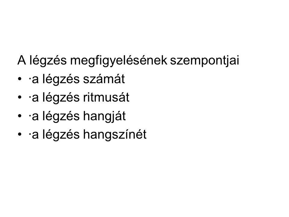 rothadt légzést okoz)