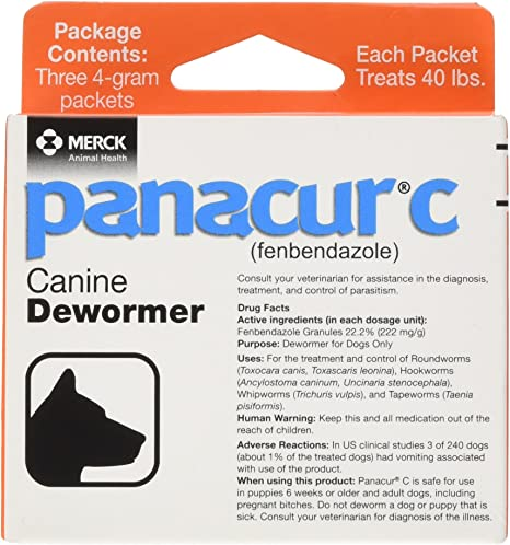 giardia panacur side effects)