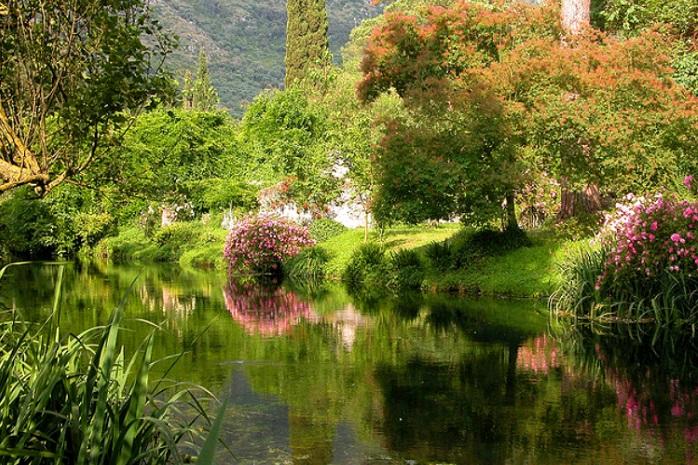 i giardini di ninfa latina