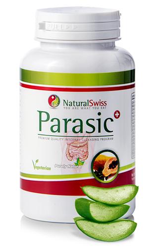 a paraziták beöntésével tisztítja a testet