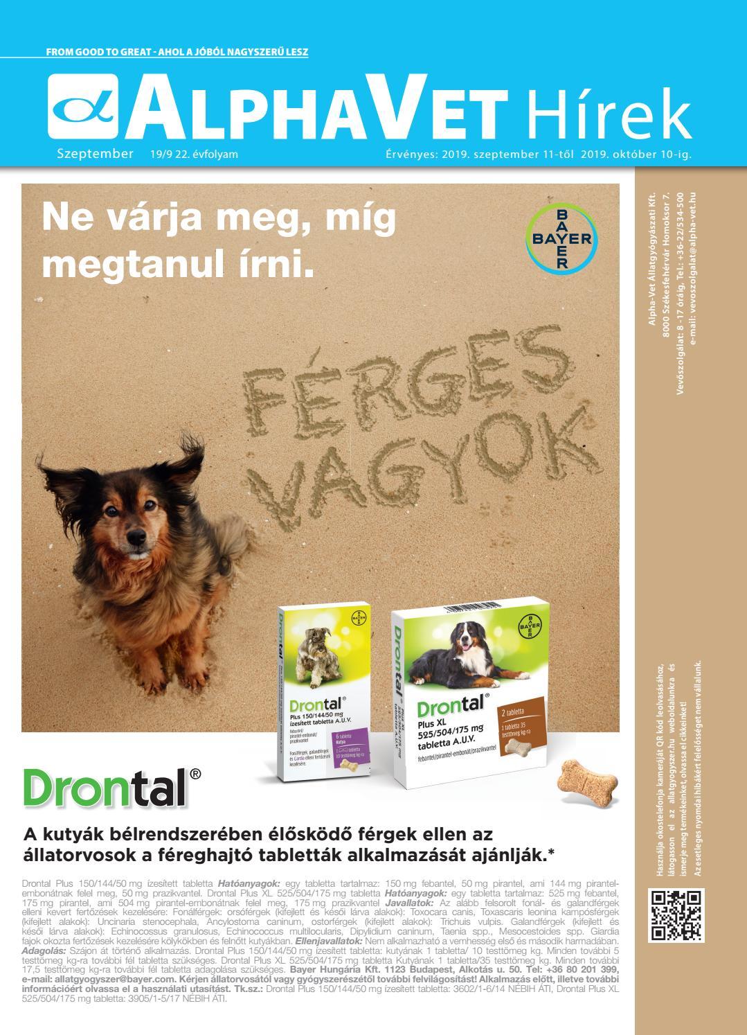 Bélféreg háziállatoknál - féregtelenítés - Terasz | Femina