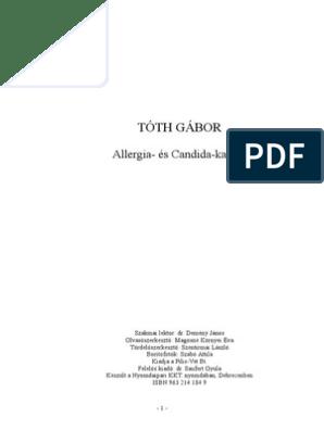 Giardiasis antitestek.