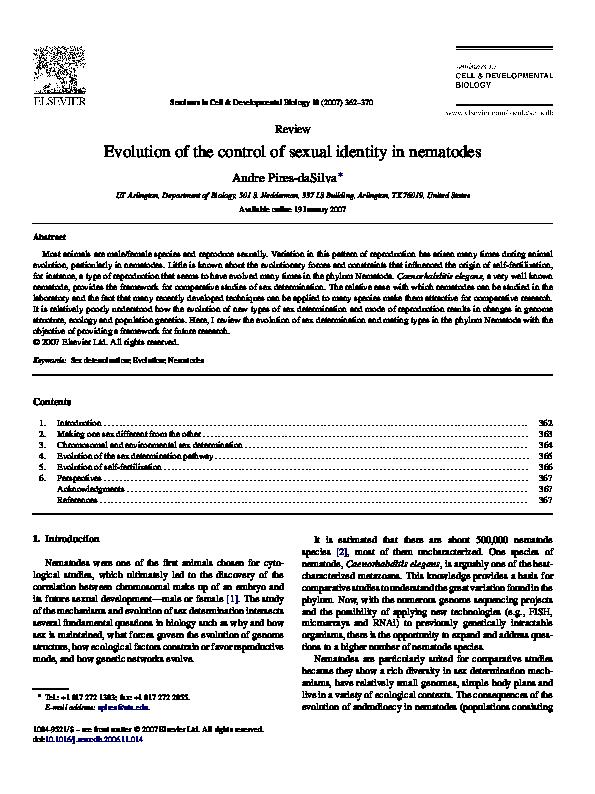 trichinella hermaphrodit